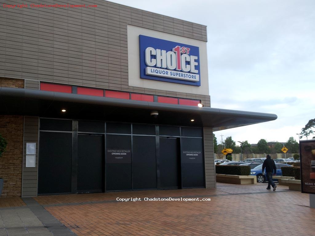 1st Choice Liquor closes - Chadstone Development Discussions