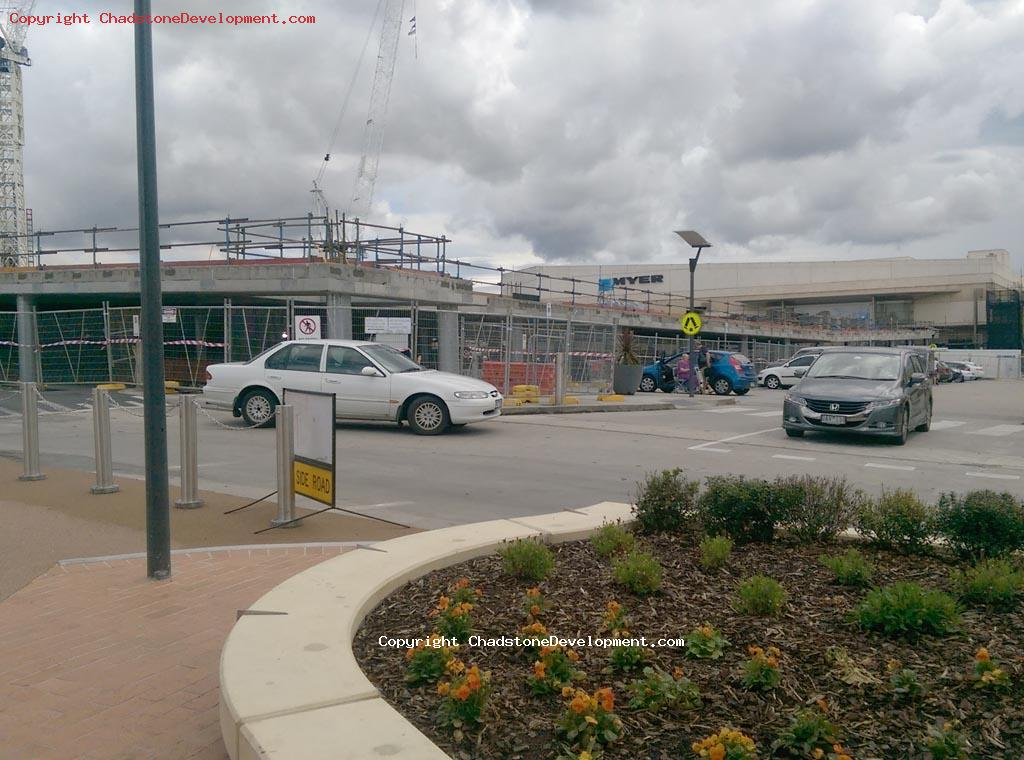 New Myer multi-level carpark under construction - Chadstone Development Discussions