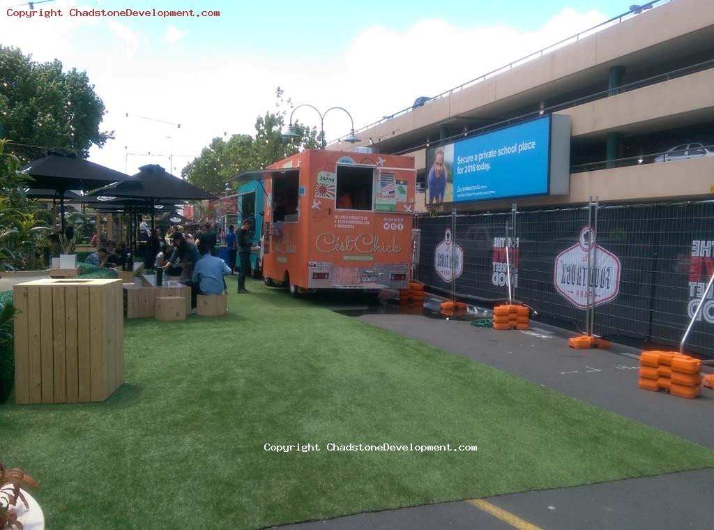Food Truck Park - in operation (Late Nov 2015) - Chadstone Development Discussions